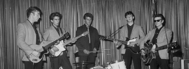 The Silver Beatles, 1960.