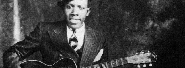 Robert Johnson, ca. 1935.