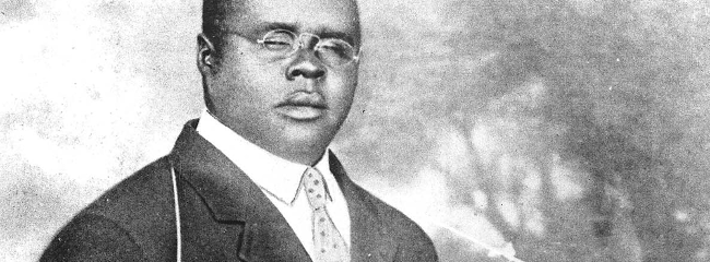 Blind Lemon Jefferson, ca. 1926.